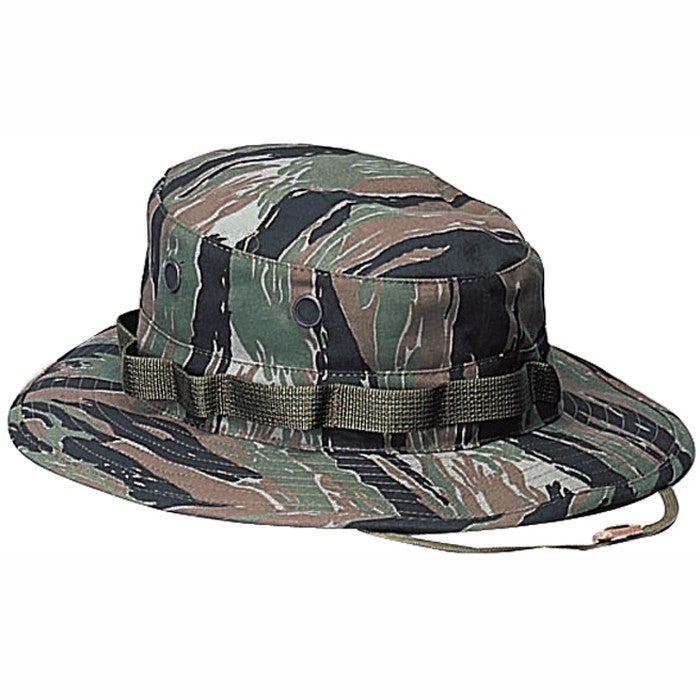 Tiger Stripe Camouflage - Military Boonie Hat