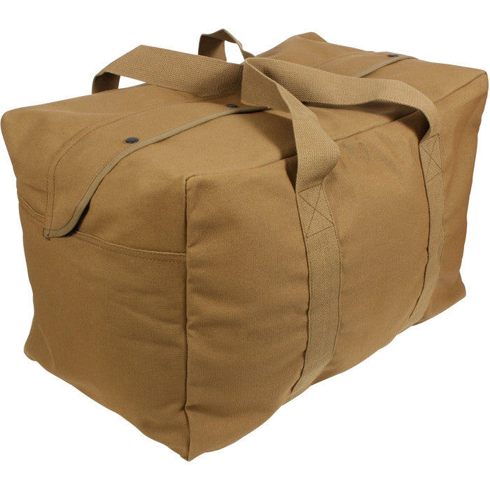 Coyote Brown - Military Parachute Traveling Cargo Bag