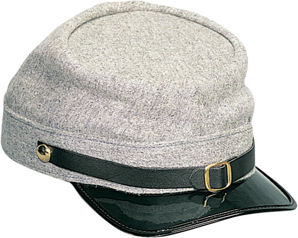 Grey - Confederate Army Civil War Kepi