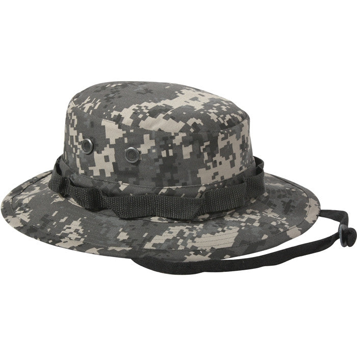 Subdued Urban Digital Camouflage - Military Boonie Hat