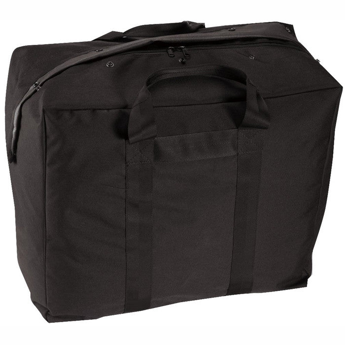 Black - Military Enhanced Aviator Kit Bag - Nylon