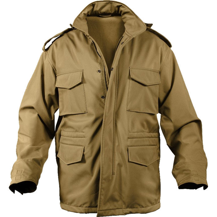 Coyote Brown - Tactical Soft Shell M-65 Field Jacket