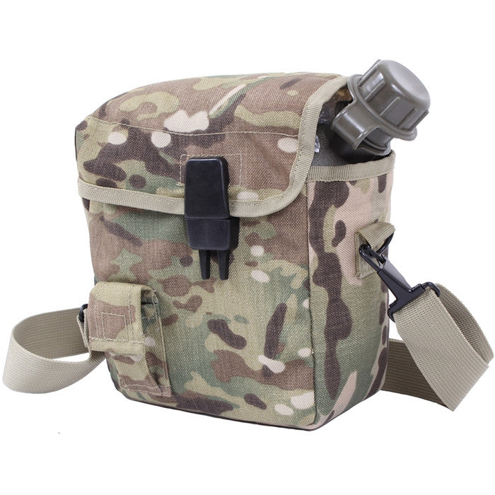 Multicam Camouflage - MOLLE 2 QT. Bladder Canteen Cover