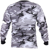 City Camouflage - Military Long Sleeve T-Shirt