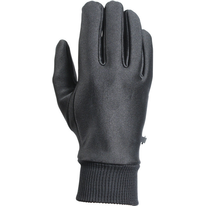 Black - Tactical Law Enforcement Lined All Weather Stretch Gloves