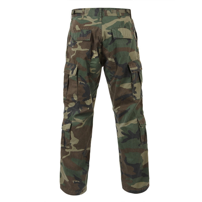 Woodland Camouflage - Military Vintage Paratrooper Fatigues