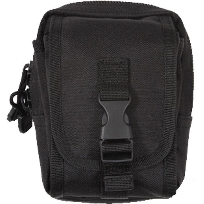 Black - Tactical MOLLE Utility Accessory Pouch