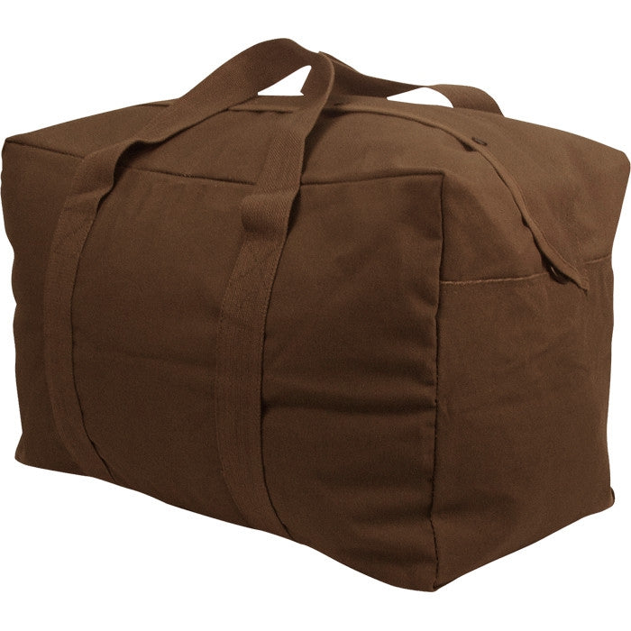 Earth Brown - Military Parachute Traveling Cargo Bag