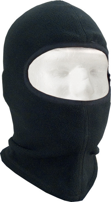 Black - Polar Fleece One Hole Balaclava