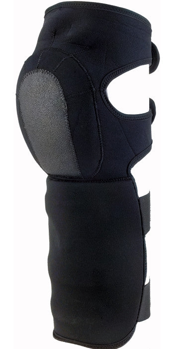 Black - Neoprene Shin Guards