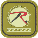 Rothco PVC Patch with Hook and Loop Back