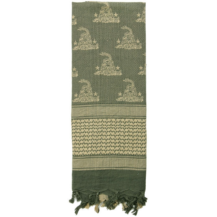 Foliage Green - Snake Shemagh Tactical Desert Scarf