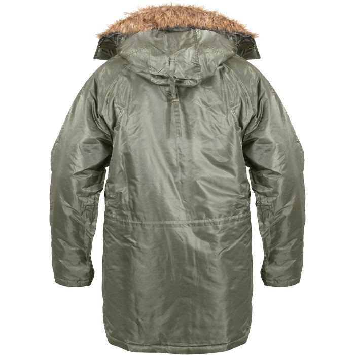 Sage Green - Cold Weather N-3B Parka Jacket