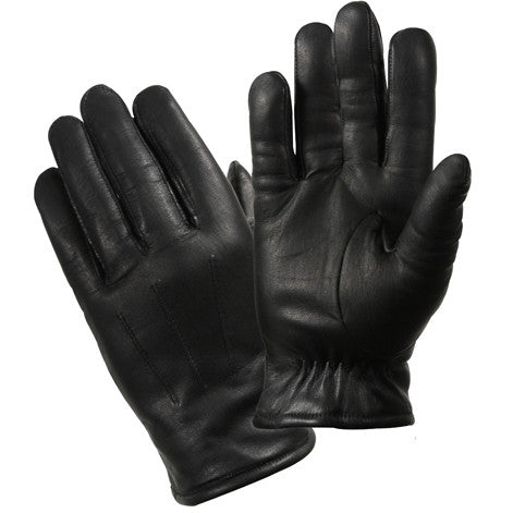 Black - Cold Weather Thermoblock Insulated Police Gloves