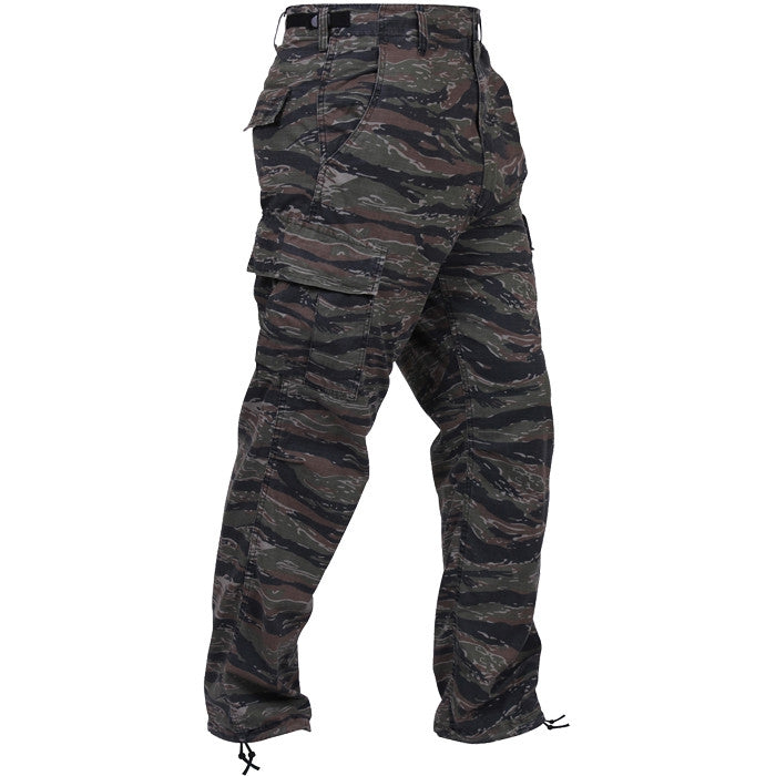 ... Tiger Stripe Camouflage - Military BDU Pants - Polyester Cotton Twill  ... 2cd354b3d2a