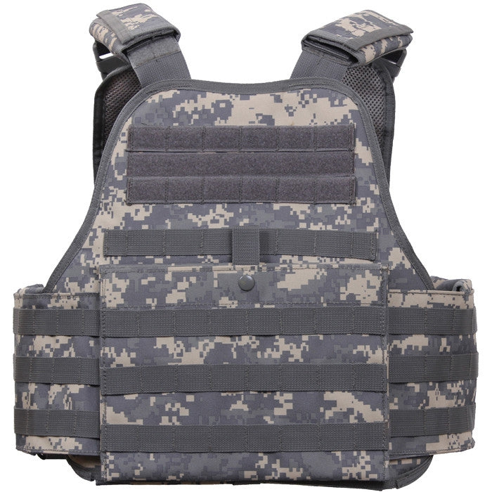 3372f2492f808 ... ACU Digital Camouflage - Military Tactical MOLLE Plate Carrier Armor  Vest