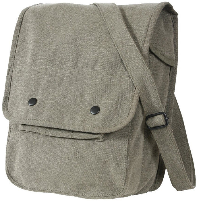 Sage Green - Military Classic Map Case Shoulder Bag