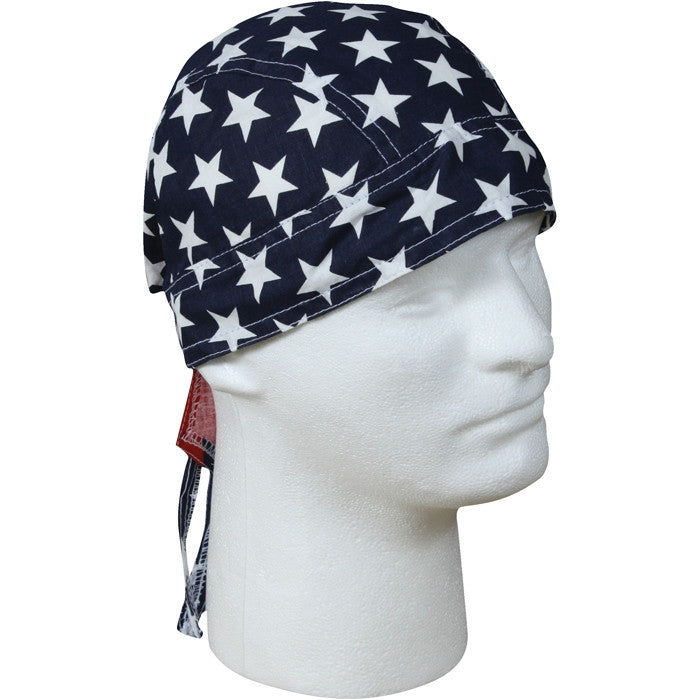 Red White Blue - Stars and Stripes Headwrap