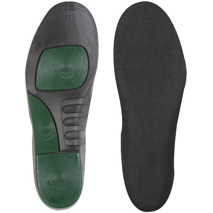 Black - Military Style Shoe Boot Insoles