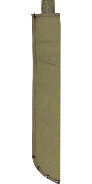 Olive Drab - Military Canvas Machete Sheath 18 in.
