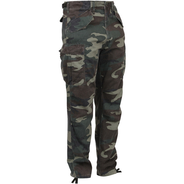 Woodland Camouflage - Military Vintage M-65 Field Pants