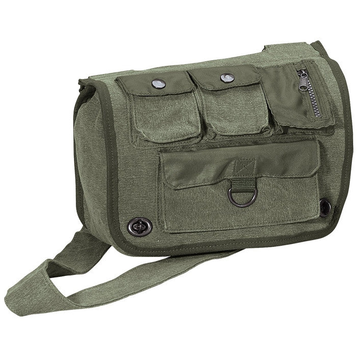 Sage Green - Military Classic Survivor Shoulder Bag