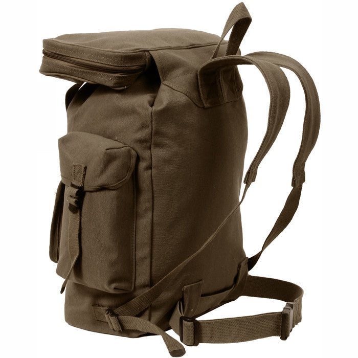 Earth Brown - European Style Rucksack Backpack