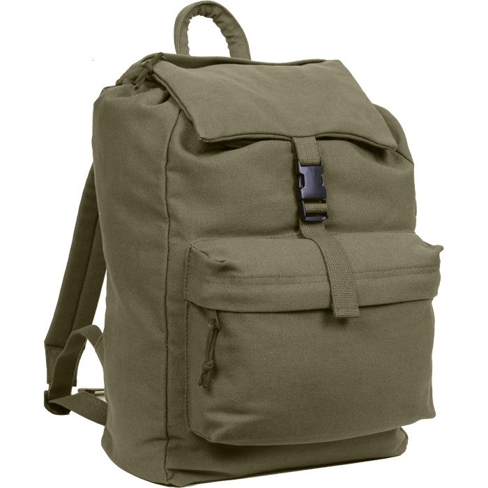 Olive Drab - Water Resistant Travel Knap Sack