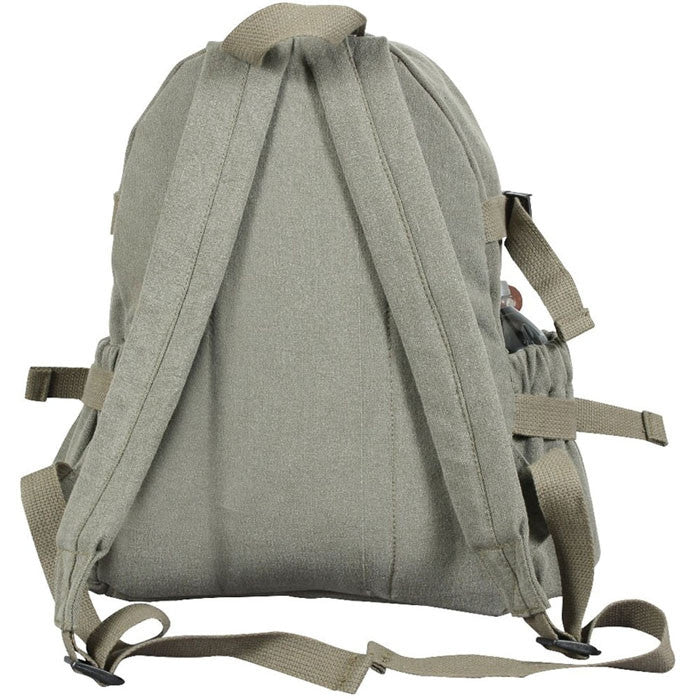 Olive Drab - Military Vintage Mini Backpack