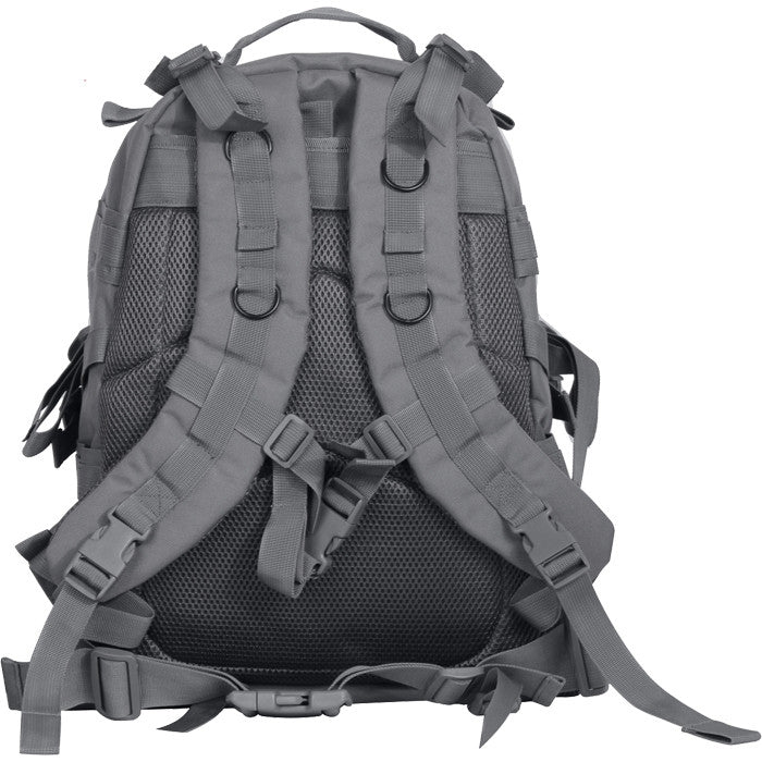 Gun Metal Grey - Military MOLLE Compatible Large Transport Pack