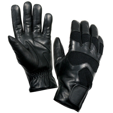 Black - Tactical Cold Weather Thermoblock Insulated Shooting Gloves