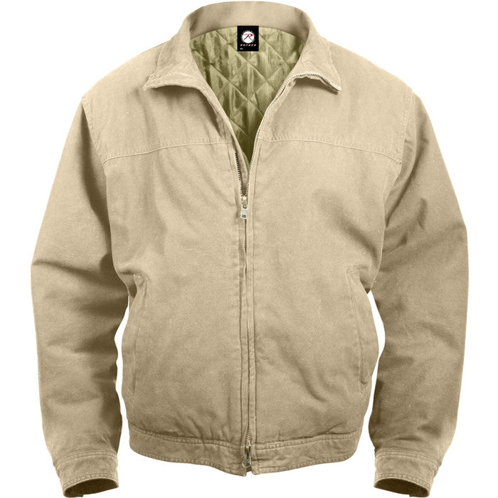 Khaki - Tactical 3 Season Concealed Weapon Carry Jacket