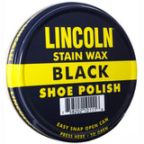 Lincoln Black - USMC Official Stain Wax Shoe Polish - USA Made