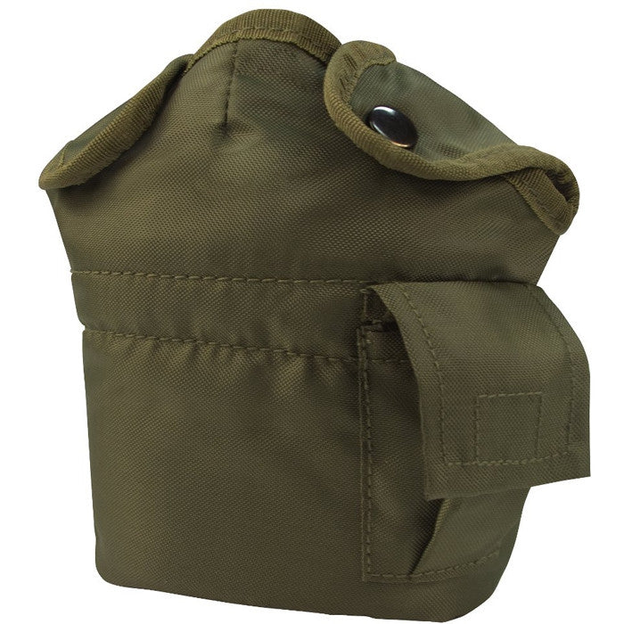 Olive Drab - Military GI Style 1 Quart Canteen Cover - Nylon
