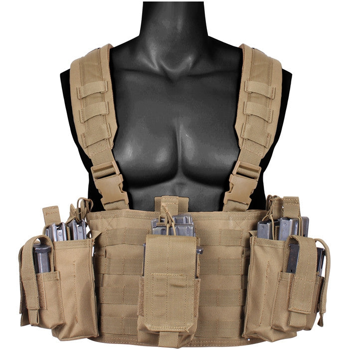 Operators Tactical Chest Rig Coyote Brown