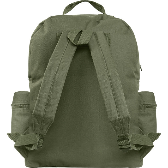Olive Drab - Water Resistant Deluxe Travel Day Pack