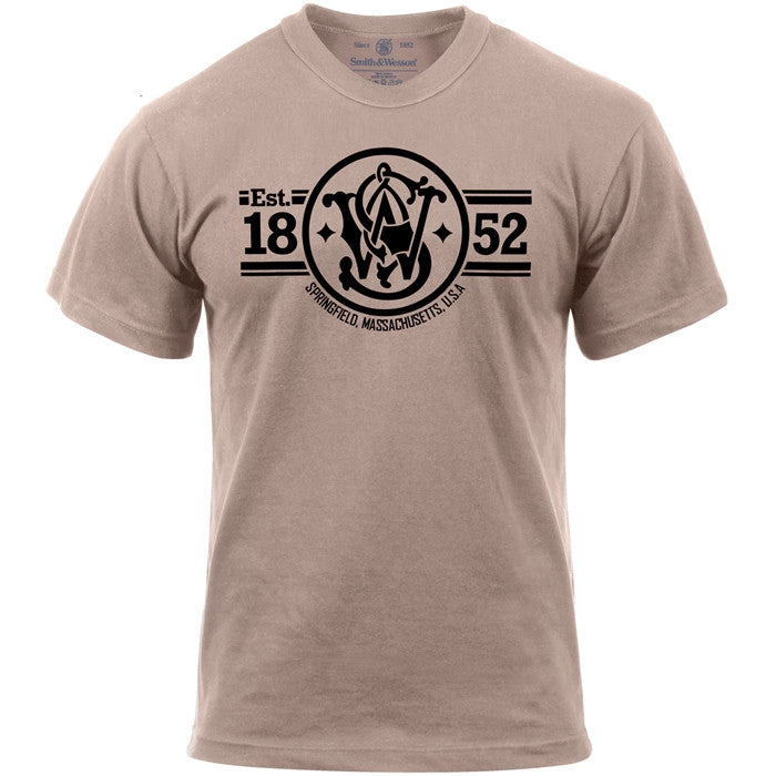 Smith & Wesson Khaki Established 1852 T-Shirt