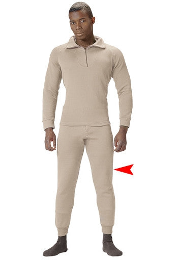 Sand - Cold Weather GI Underwear Pants