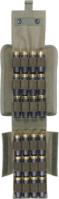 Black - Tactical MOLLE Shotgun Shell Pouch