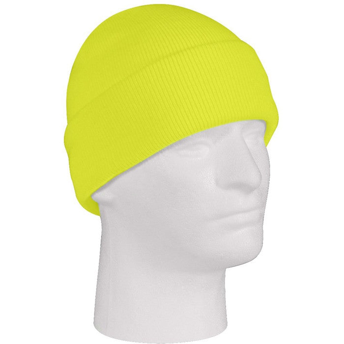 Safety Green - High Visibility Military Watch Cap - Acrylic