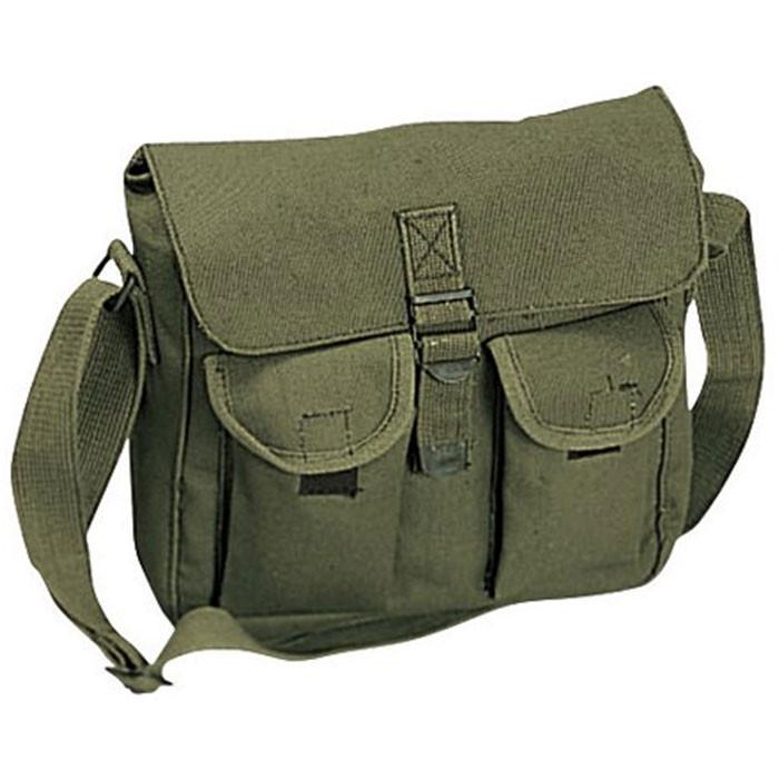 Olive Drab - Army Ammo Shoulder Bag