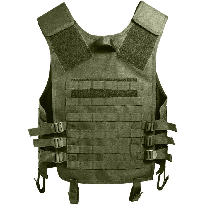 Olive Drab - Advanced MOLLE Compatible Tactical Vest