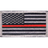 Thin Red Line Support the Firefighters U.S. Flag Patch