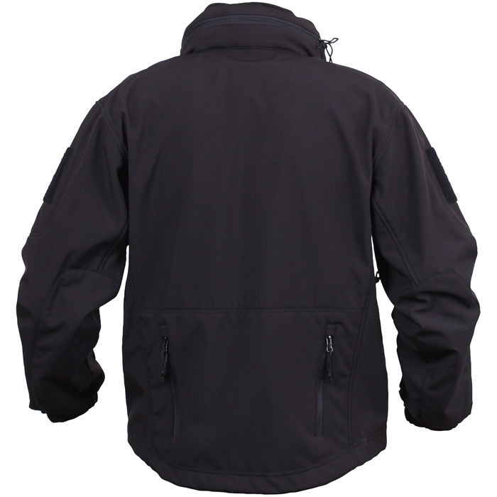 Black - Concealed Carry Soft Shell Jacket