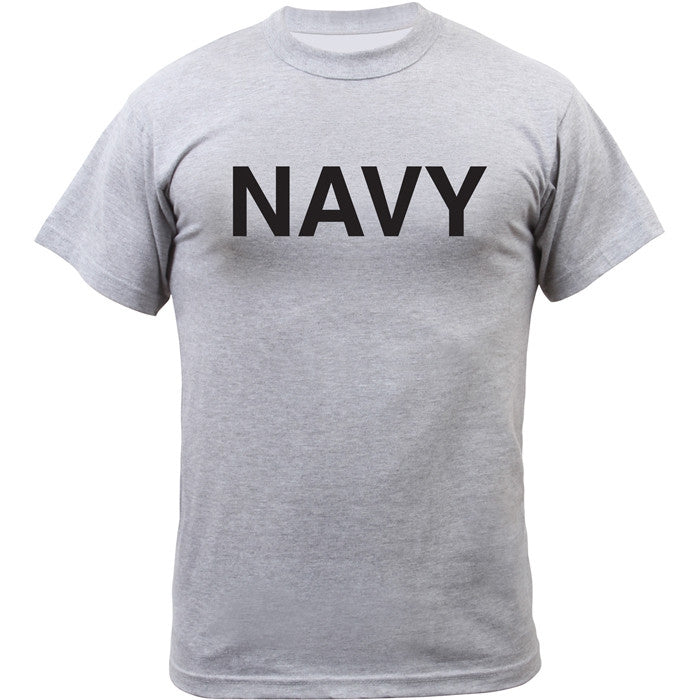 Grey - NAVY Physical Training T-Shirt