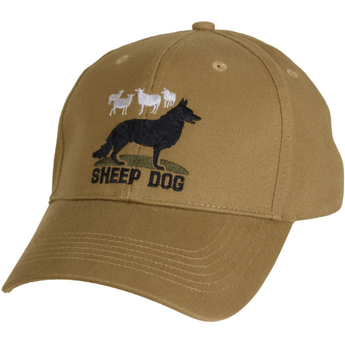 Coyote Brown - Sheep Dog Low Profile Cap