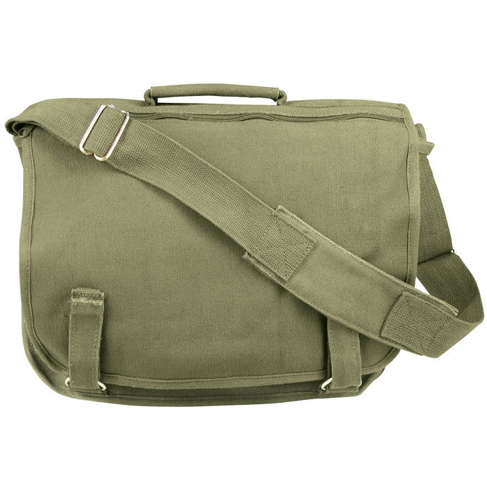Olive Drab - European Style School Shoulder Bag