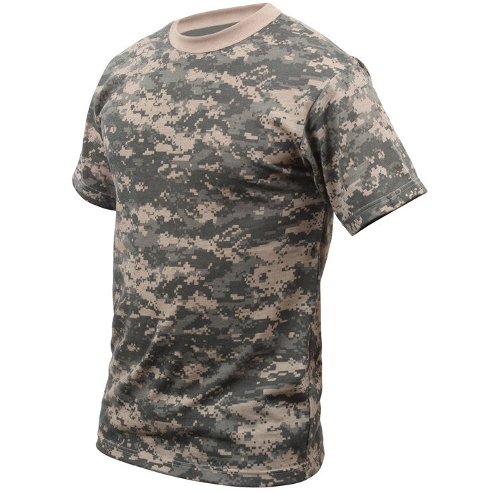 ACU Digital Camouflage - Military T-Shirt