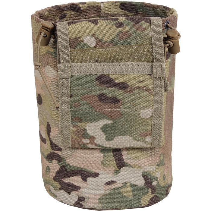 Multicam Camouflage - Tactical MOLLE Roll Up Utility Dump Pouch