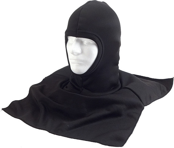 Black - Balaclava Scarf with Dickie